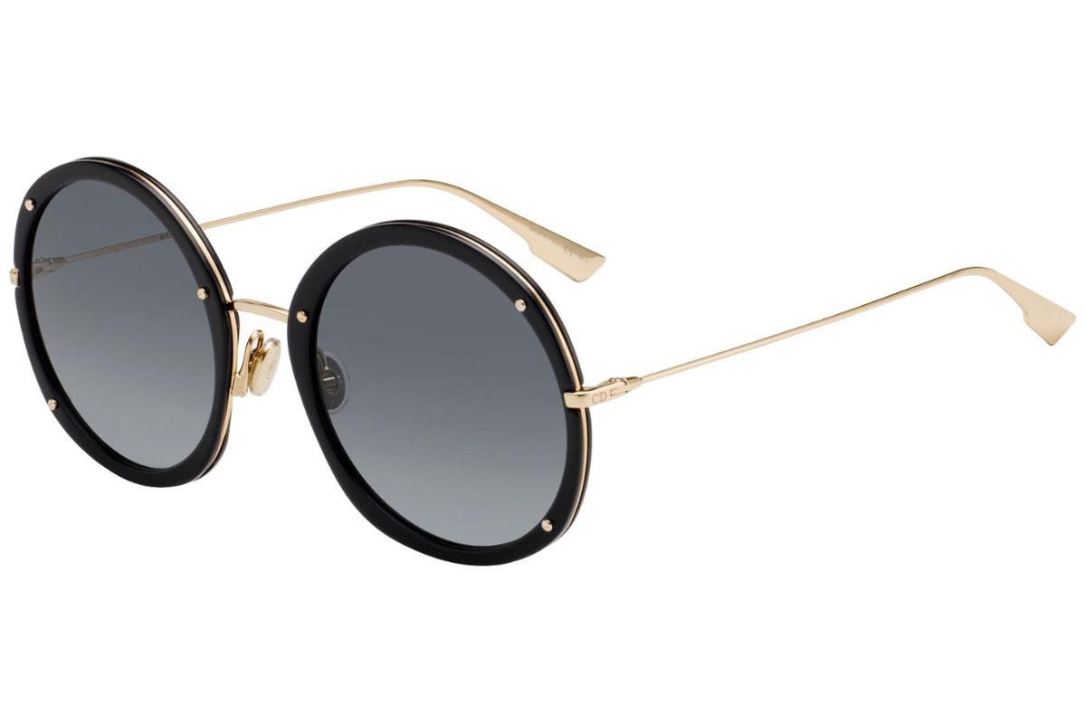 Óculos de Sol Dior Dourado/Preto DIORHYPNOTIC 1 - 2M2/1I/56