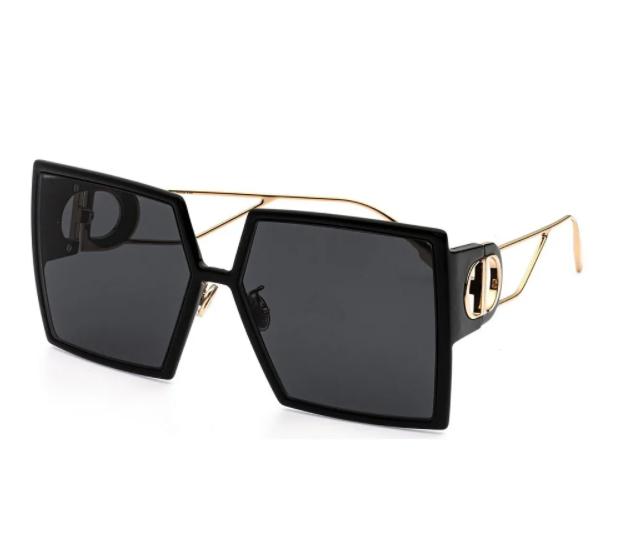 Óculos de Sol Dior Preto/Dourado 30MONTAIGNE 2 - 807/2K/58