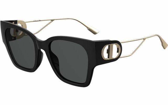 Óculos de Sol Dior Preto/Dourado DIOR30MONTAIGNE1 - 807/2K/55