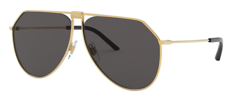 Óculos de Sol Dolce & Gabbana Dourado DG2248 - 02/87/62