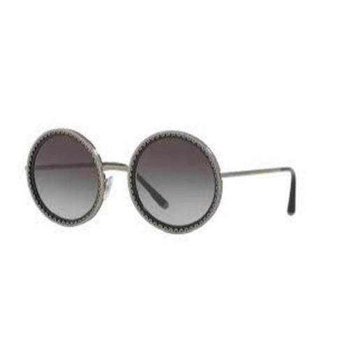 Óculos de Sol Dolce & Gabbana Preto/Cinza DG2211 - 04/8G/53