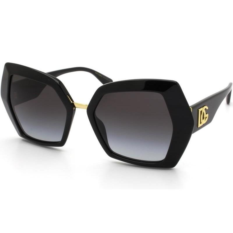 Óculos de Sol Dolce & Gabbana Preto DG4377 - 501/8G/54