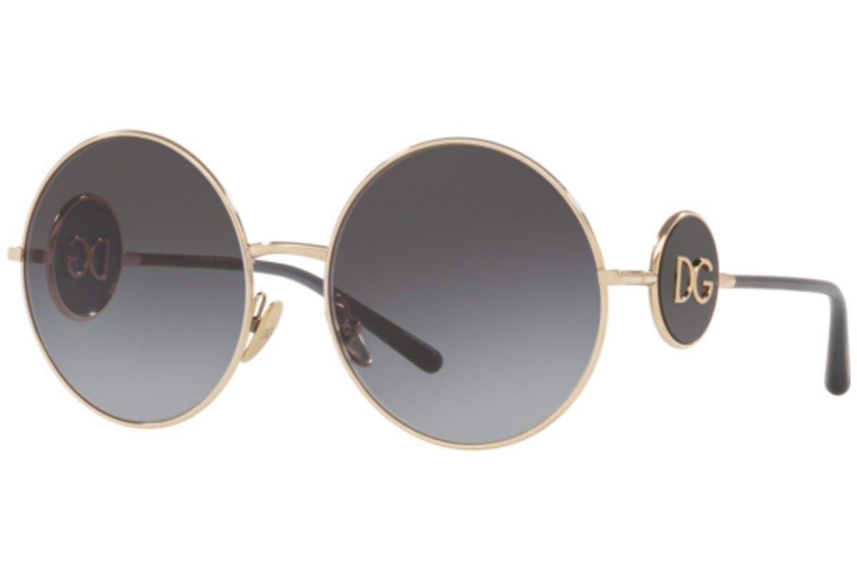 Óculos de Sol Dolce & Gabbana Dourado DG2205 - 488/8G/59