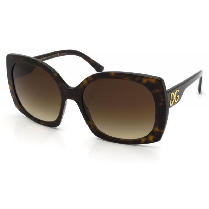 Óculos De Sol Dolce & Gabbana Tartaruga DG4385 50213