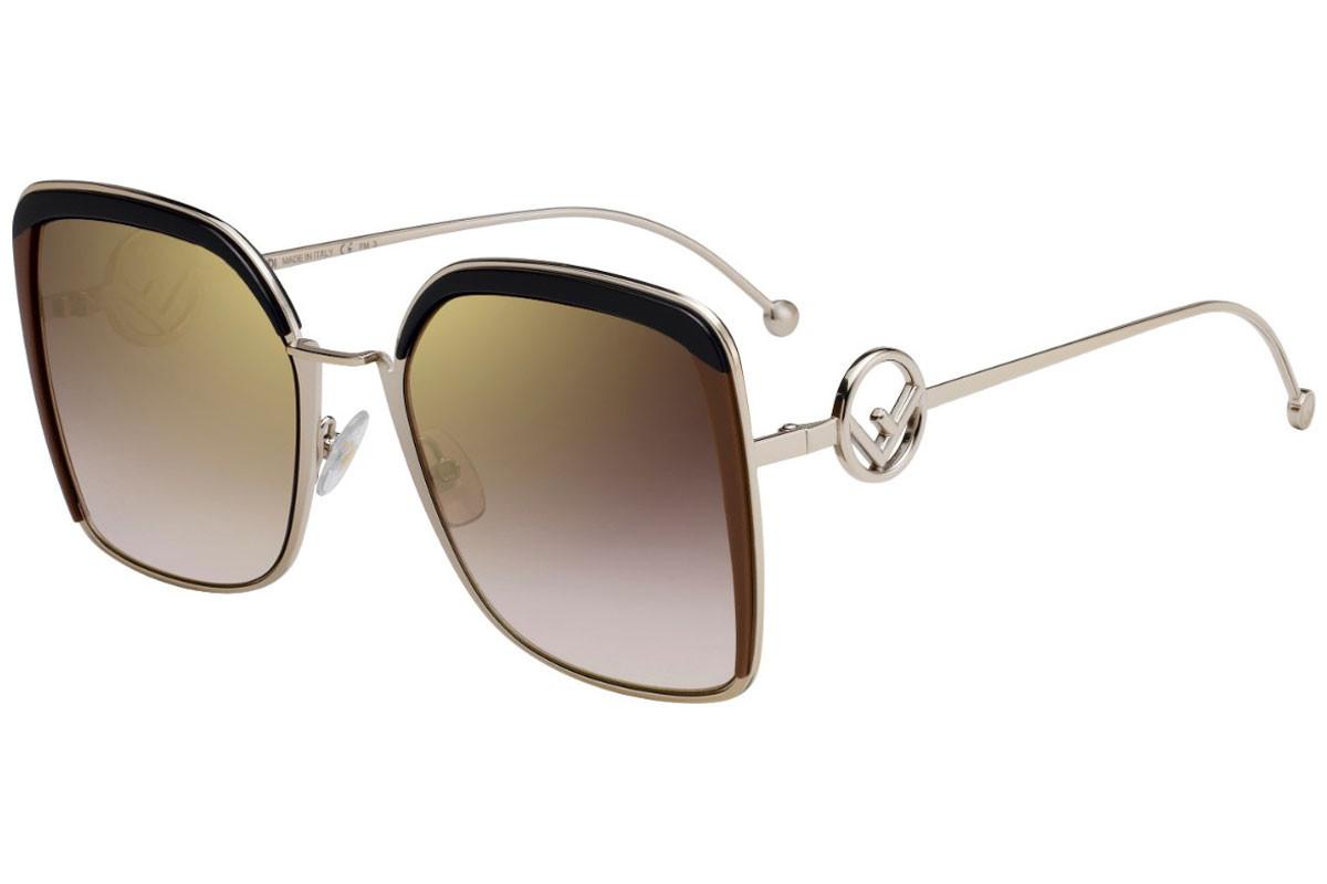 Óculos de Sol Fendi Dourado FF0294/S - 09QJL/58