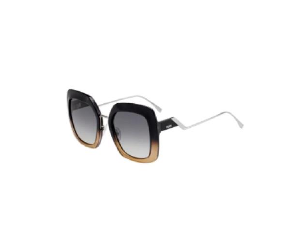 Óculos de Sol Fendi Marrom/Preto FF0317/S - 7C5/PR/53