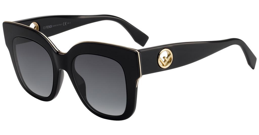 Óculos de Sol Fendi Preto FF0359/G/S - 807/9O/51