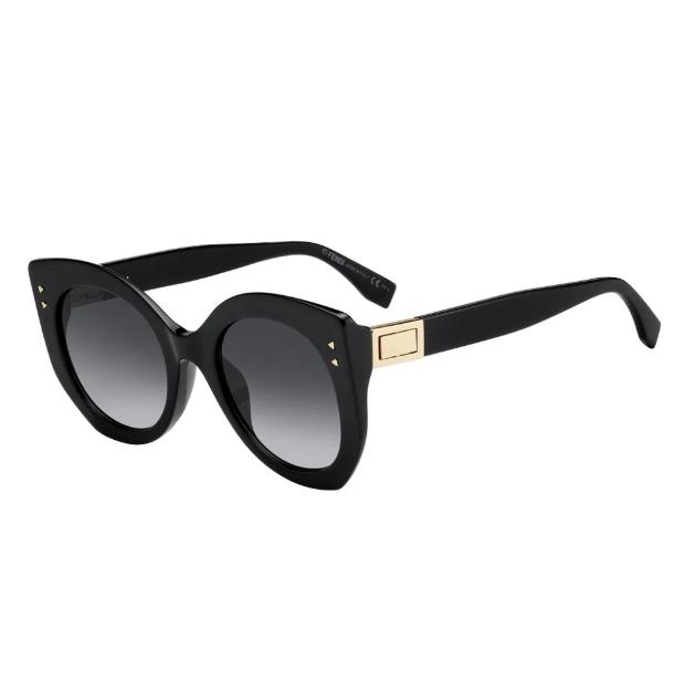 Óculos de Sol Fendi Preto Peekaboo FF0265/S - 8079O/52