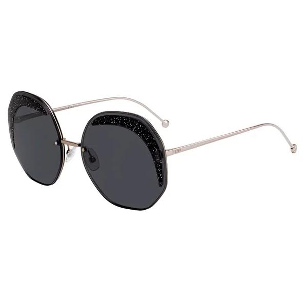 Óculos de Sol Fendi Preto/Prata FF0358/S - KB7/IR/63