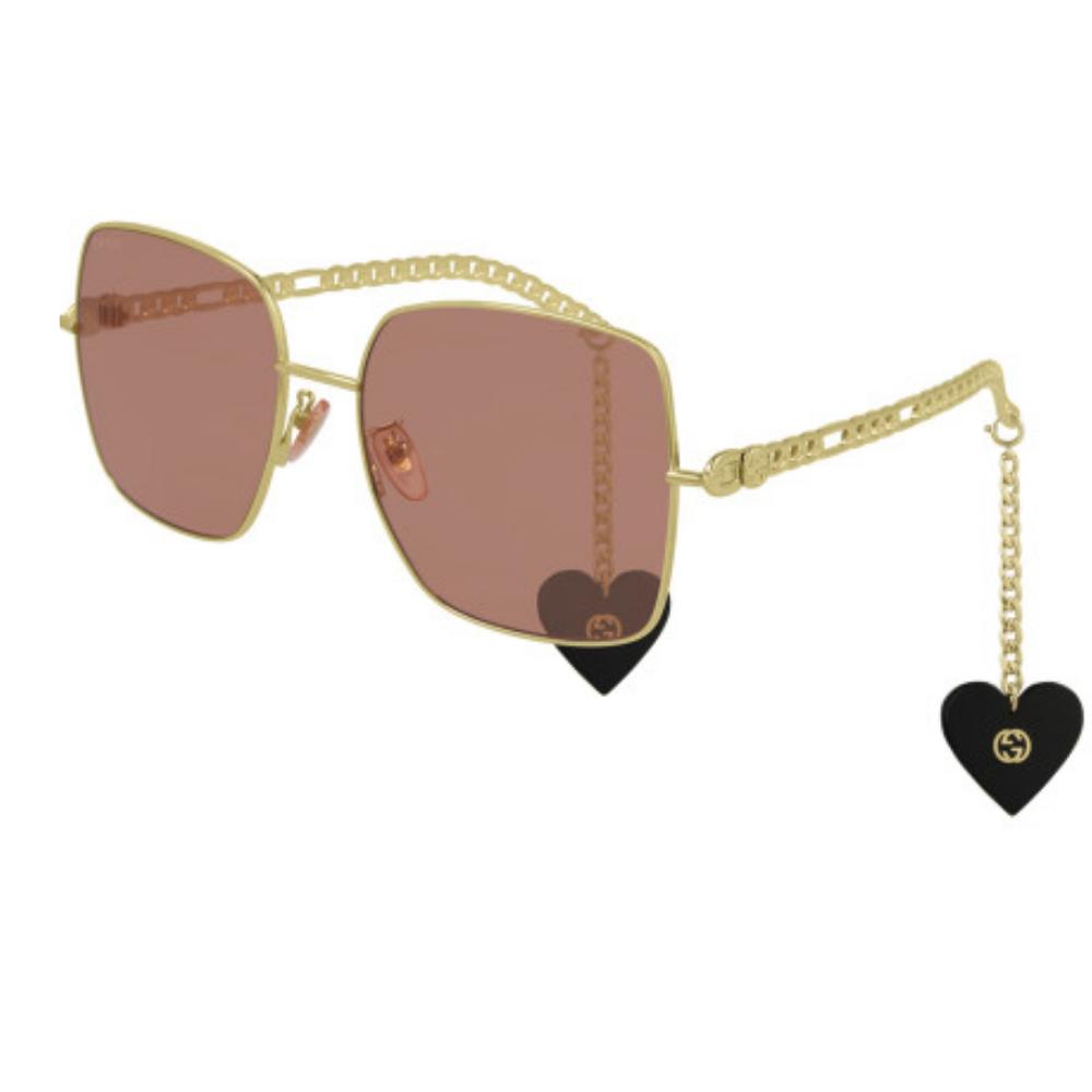 Óculos De Sol Gucci GG0724S 005/61