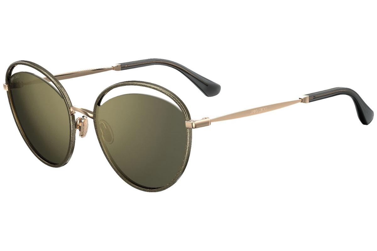Óculos de Sol Jimmy Choo Dourado MALYA/S - W8Q/K1/59