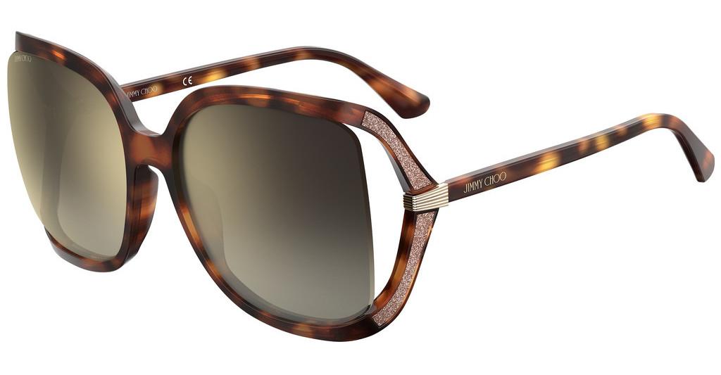 Óculos de Sol Jimmy Choo Havana Tilda/G/S - 086/JL/60