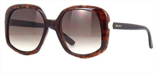 Óculos de Sol Jimmy Choo Marrom Amada/S - 08657HA/56