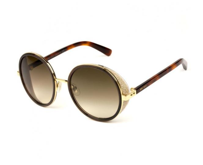 Óculos de Sol Jimmy Choo Marrom Andie/S - J7G/JD/54