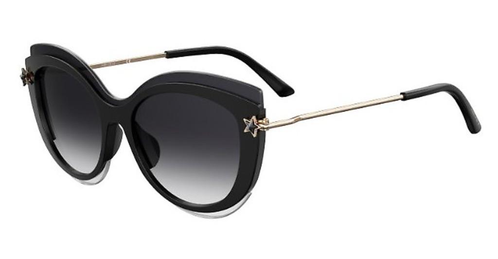 Óculos de Sol Jimmy Choo Preto/Dourado Clea/G/S - 807/9O/99
