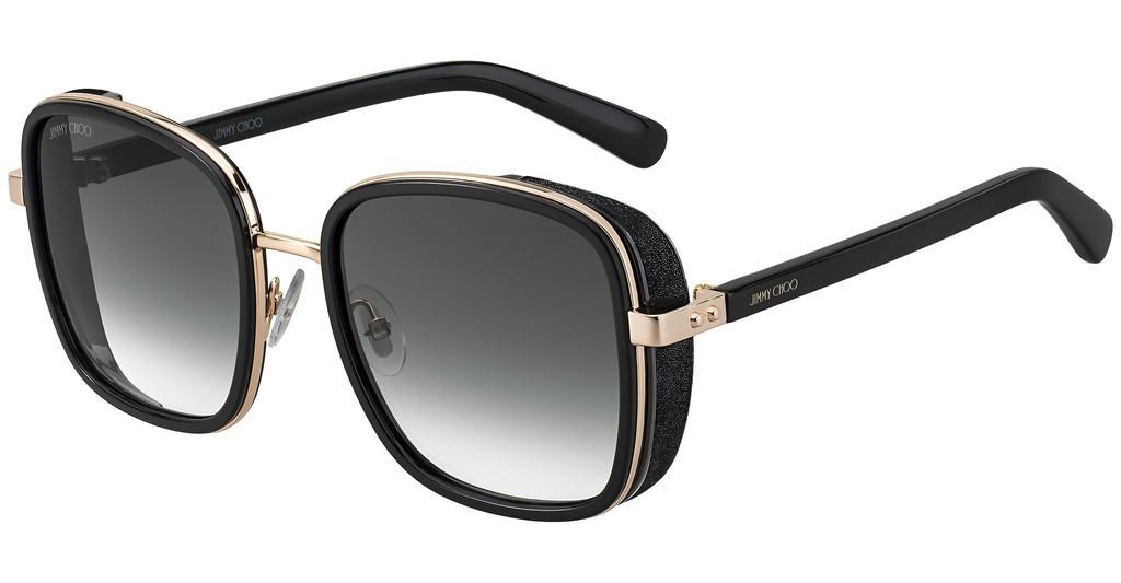 Óculos de Sol Jimmy Choo Preto Elva/S - 2M2/9O/54