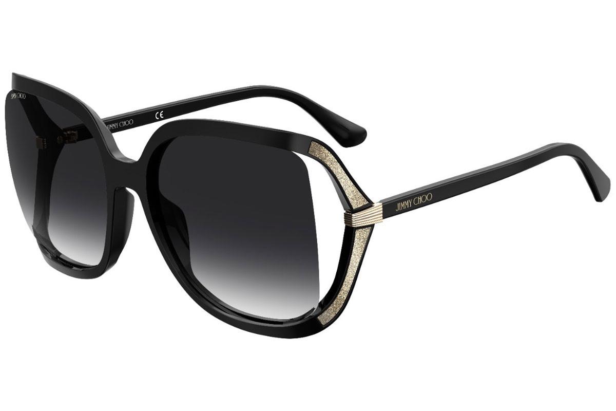 Óculos de Sol Jimmy Choo Preto Tilda/G/S - 807/9O/60