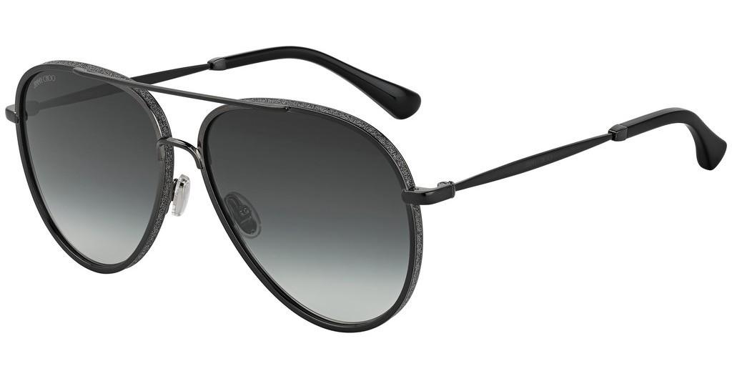Óculos de Sol Jimmy Choo Preto Triny/S - 807/9O/59
