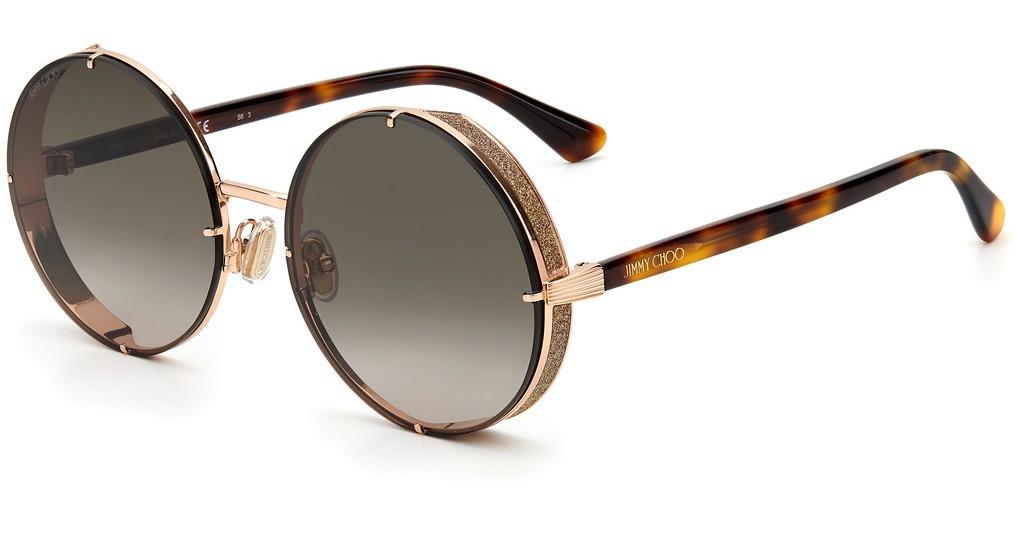 Óculos de Sol Jimmy Choo Rosé LILO/S - DDB/HA/58