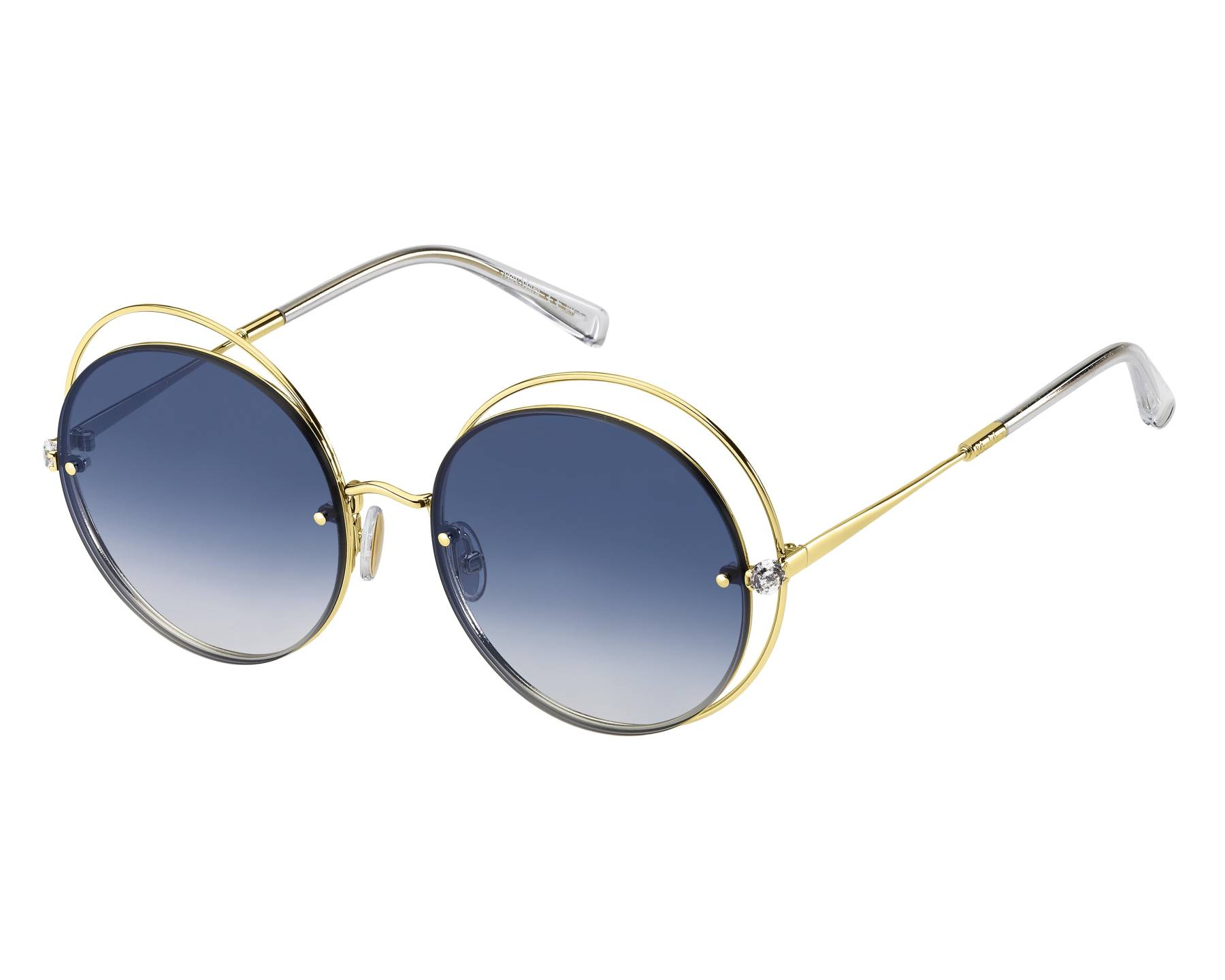 Óculos de Sol Max Mara Dourado MMSHINE I - J5G08/56