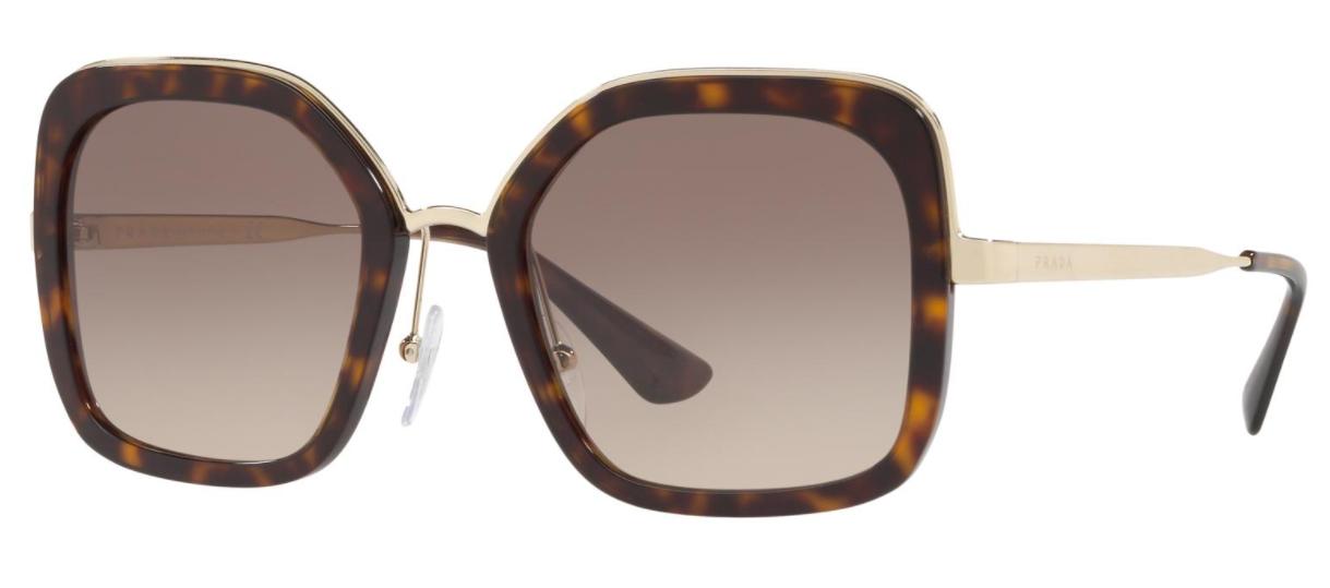 Óculos de Sol Prada Catwalk Tartaruga  PR 57US - 2AU3D0/54