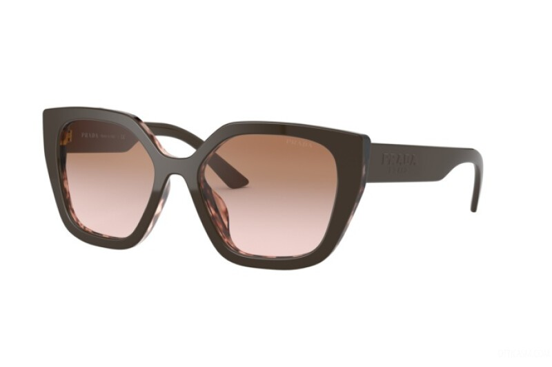 Óculos de Sol Prada Marrom PR24XS - ROL0A6/52