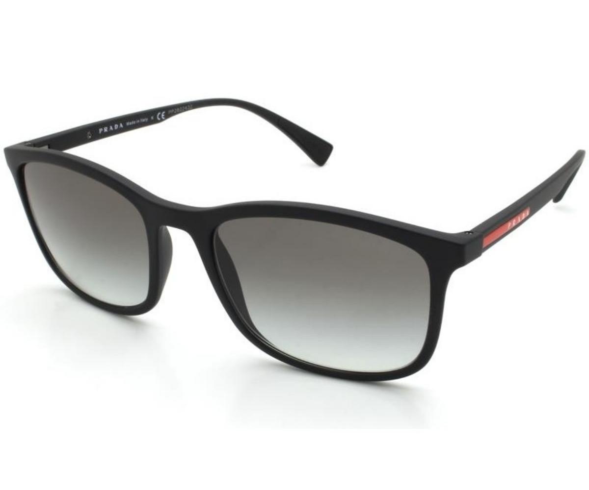 Óculos De Sol Prada Preto Fosco SPS01T DG0-0A7 56-19