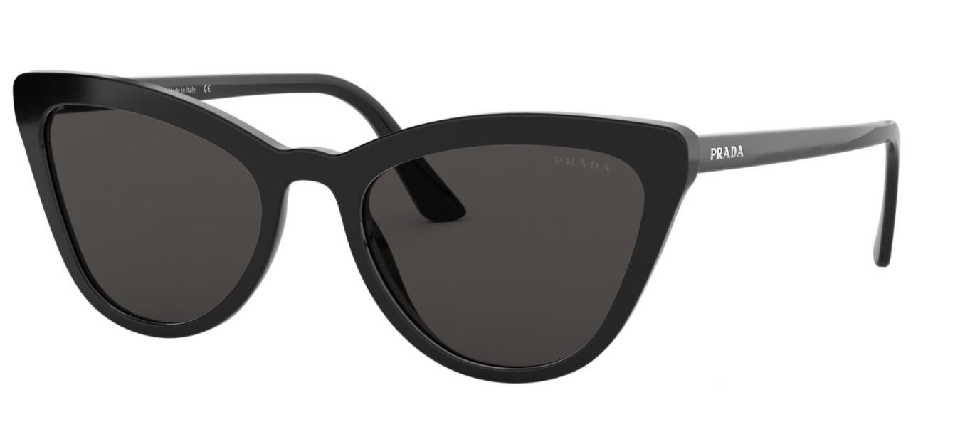 Óculos de Sol Prada Preto PR 01VS - 1AB5S0/56