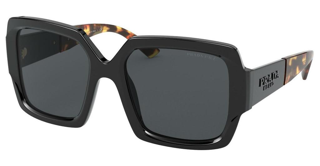 Óculos de Sol Prada Preto SPR 21X - 1AB/5Z1/54 Polarizado