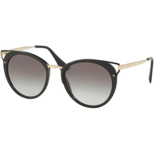 Óculos de Sol Prada Preto SPR 66T - 1AB0A7/54