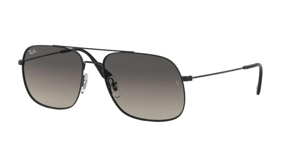 Óculos de Sol Ray-Ban Andrea Preto RB3595L - 901411/59