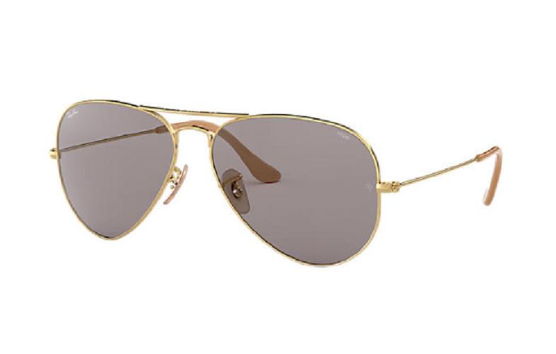Óculos de Sol Ray-Ban Aviator Dourado Evolve RB3025 - 9064V8/58