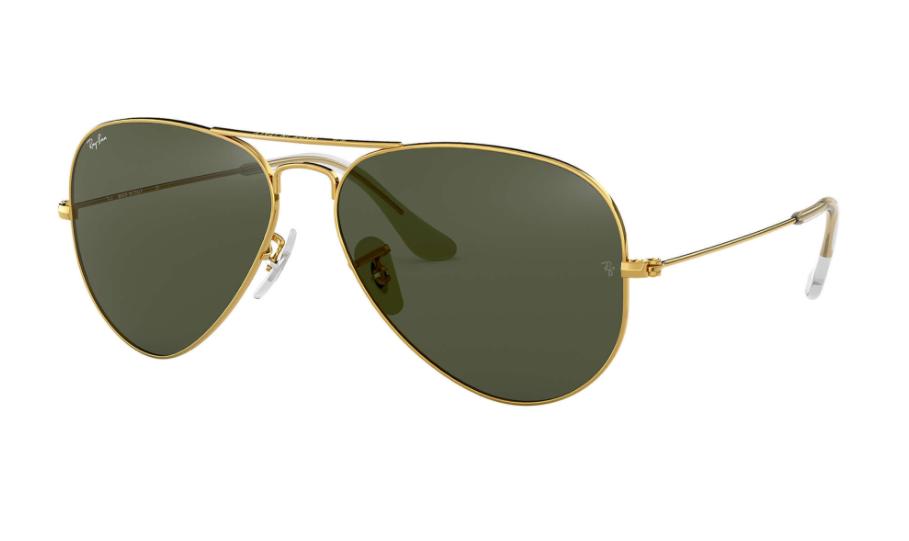 Óculos de Sol Ray-Ban Aviator Dourado RB3025L - L0205/58