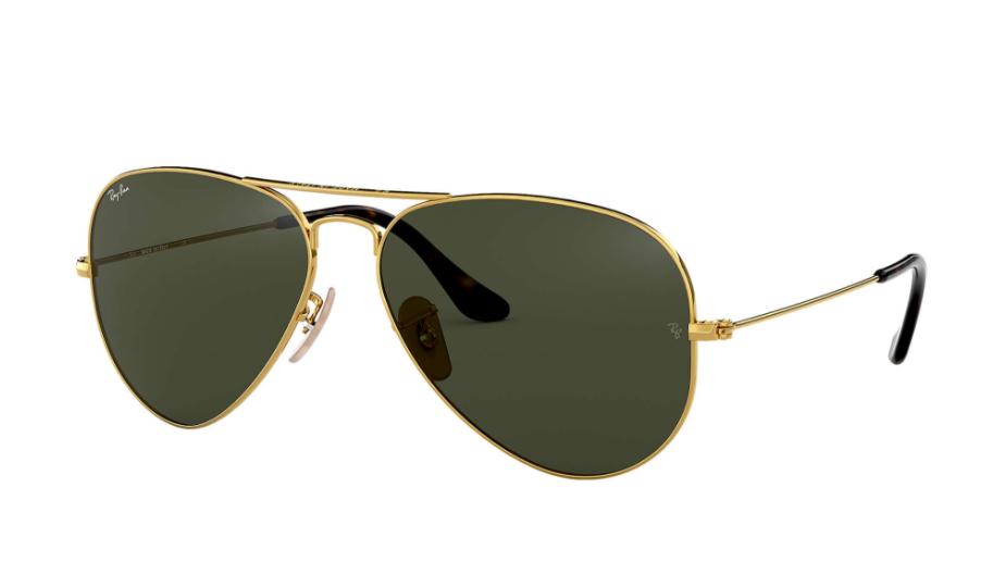 Óculos de Sol Ray-Ban Aviator Large Metal Dourado RB3025L - 181/62