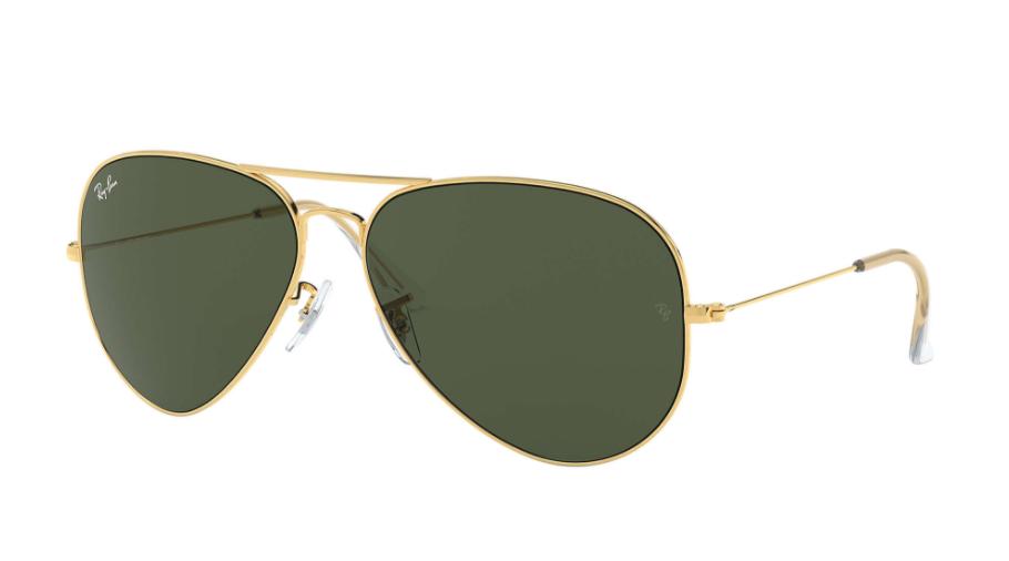 Óculos de Sol Ray-Ban Aviator Large Metal II Dourado RB3026L - L2846/62