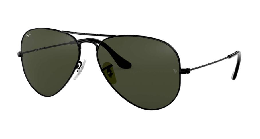 Óculos de Sol Ray-Ban Aviator Preto RB3025L - L2823/58