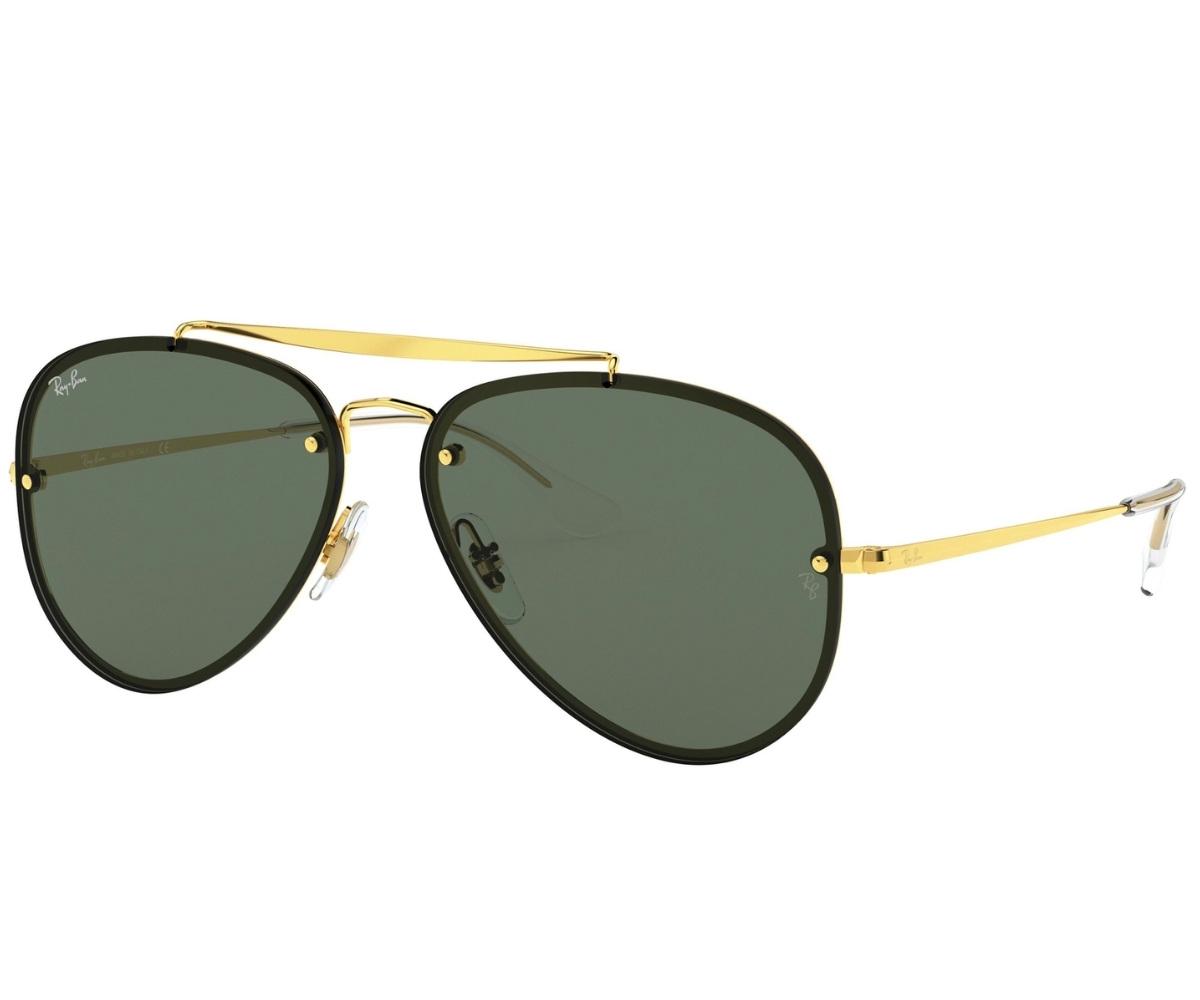 Óculos de Sol Ray-Ban Blaze Aviator Dourado RB3584N - 905071/61