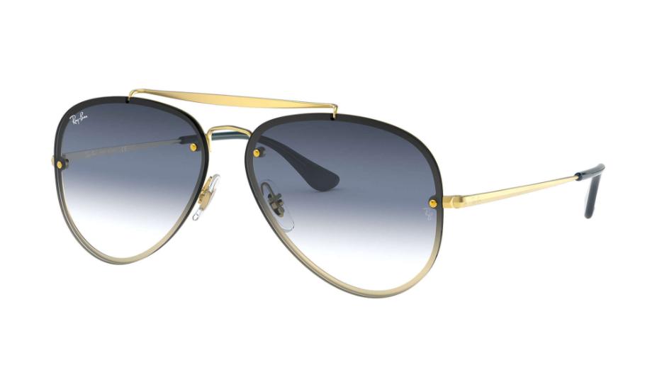 Óculos de Sol Ray-Ban Blaze Aviator Dourado RB3584N - 91400S/61
