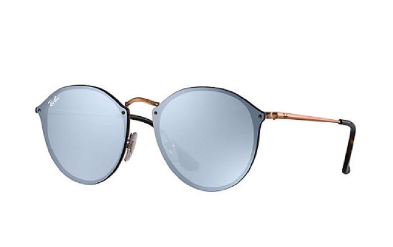 Óculos de Sol Ray-Ban Blaze Round Bronze Acobreado RB3574N - 9035/1U/59