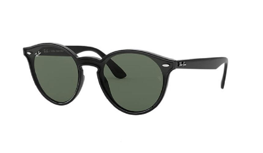 Óculos de Sol Ray-Ban Blaze Round Preto RB4380NL - 601/71/37