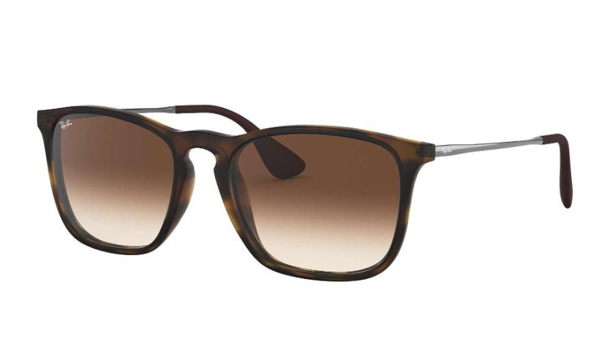 Óculos de Sol Ray-Ban Chris Marrom RB4187L - 856/13/54