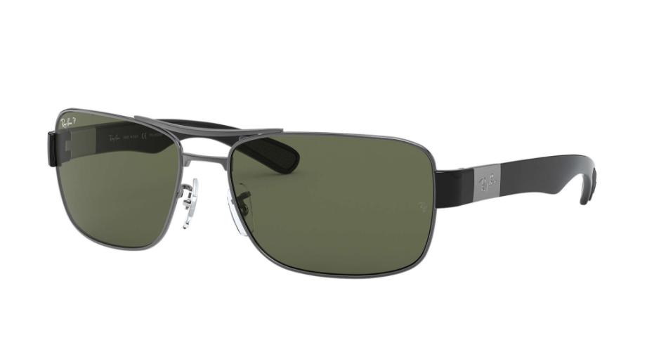 Óculos de Sol Ray-Ban Chumbo RB3522 - 004/9A/64 Polarizado