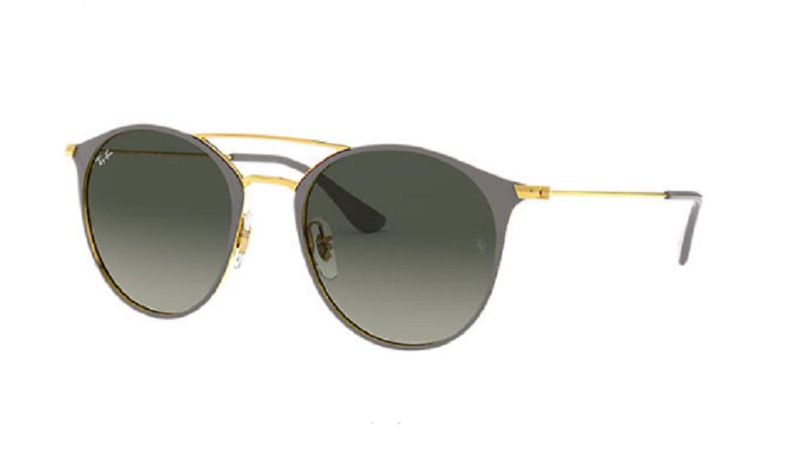 Óculos de Sol Ray-Ban Cinza/Dourado RB3546 - 917471/52