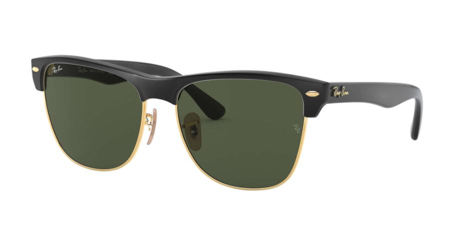 Óculos de Sol Ray-Ban Clubmaster Oversized Preto RB4175 - 877/57