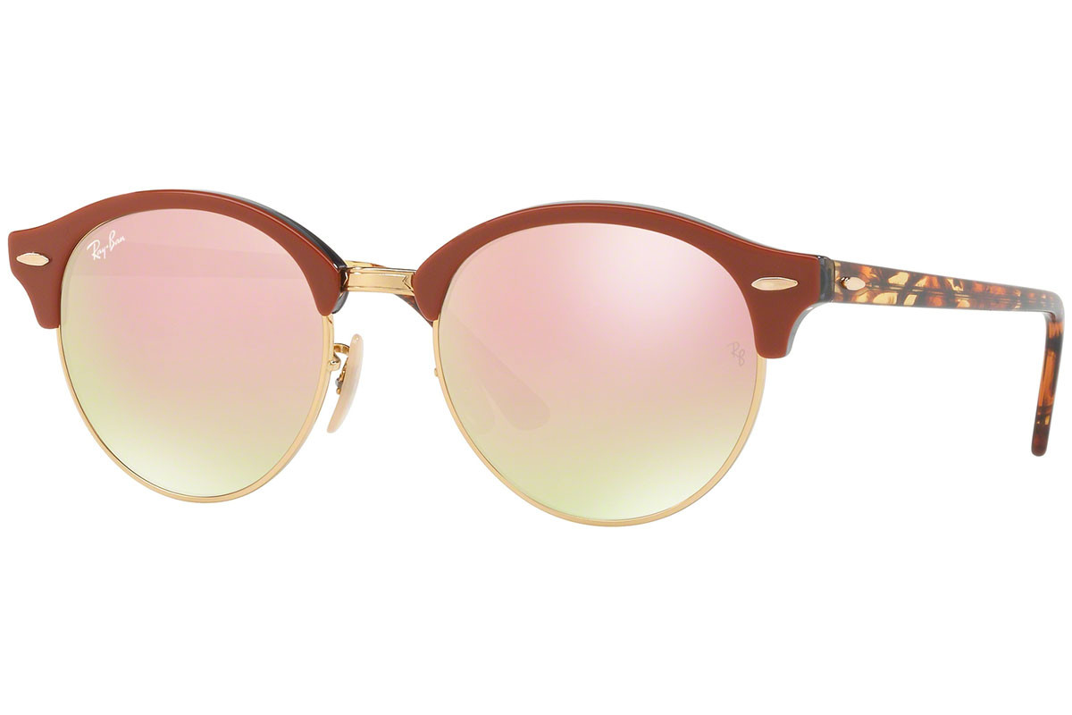 Óculos de Sol Ray-Ban Clubround Classic Tartaruga RB4246 - 1220/7O/51