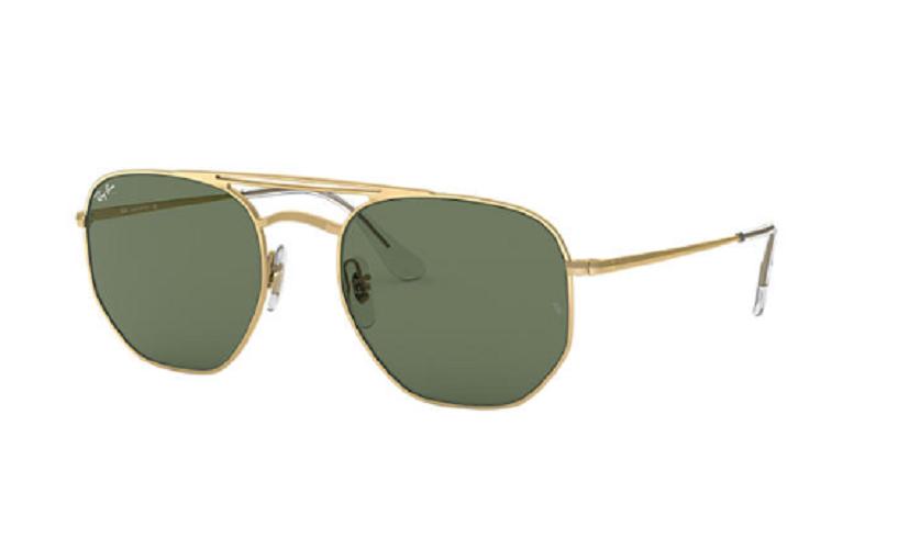 Óculos de Sol Ray-Ban Dourado RB3609 - 914071/54