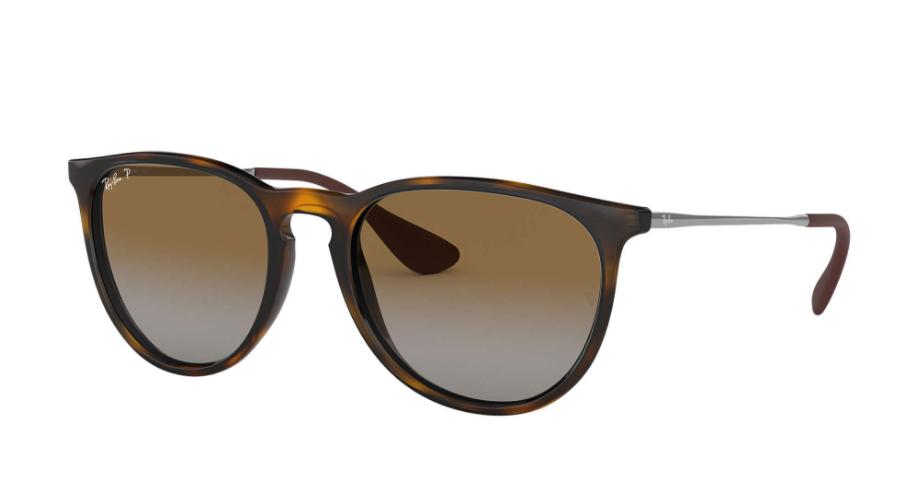 Óculos de Sol Ray-Ban Erika Clássico Tartaruga RB4171L - 710/T5/54 Polarizado