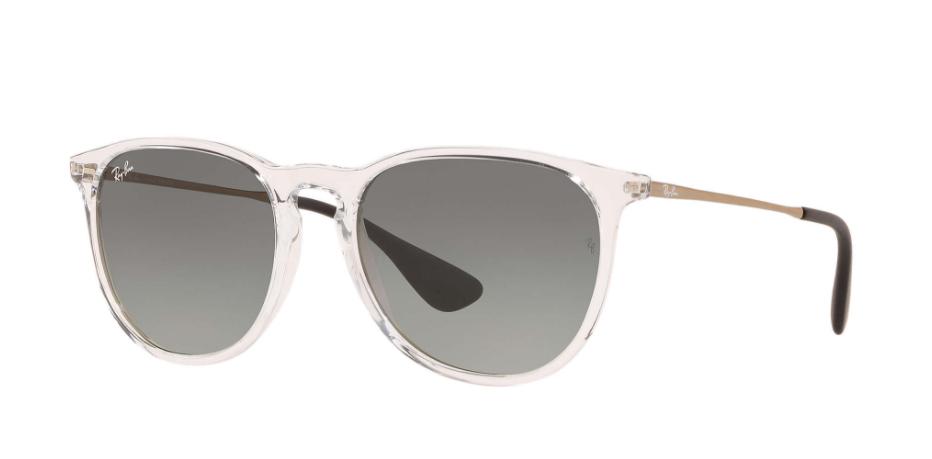 Óculos de Sol Ray-Ban Erika Clássico Transparente RB4171L - 649811/54
