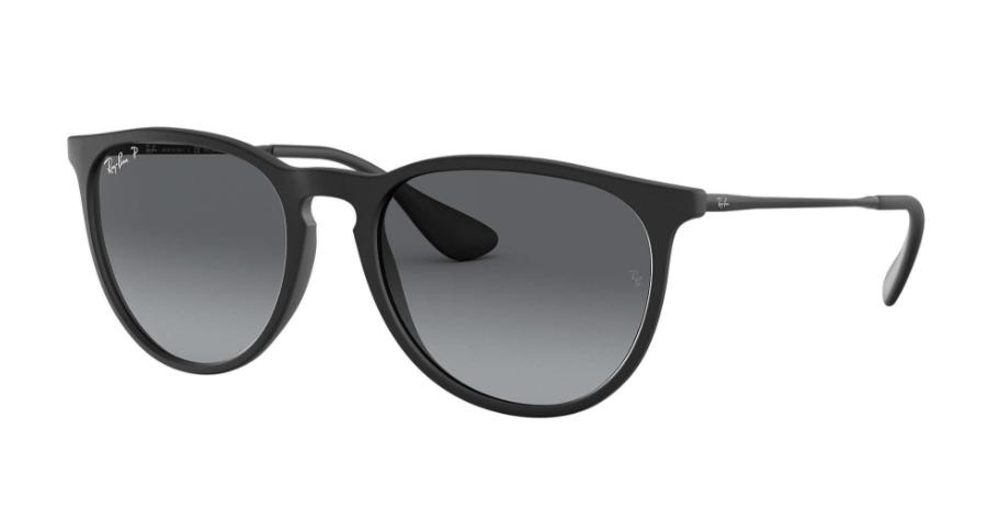 Óculos de Sol Ray-Ban Erika Preto RB4171 - 622/T3/54 Polarizado