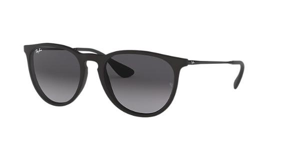 Óculos de Sol Ray-Ban Erika Preto RB4171L - 622/8G/54